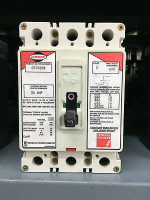 Federal Pioneer FPE Horizon CE3030B 3 Pole 30A 6000V *GUARANTEED*