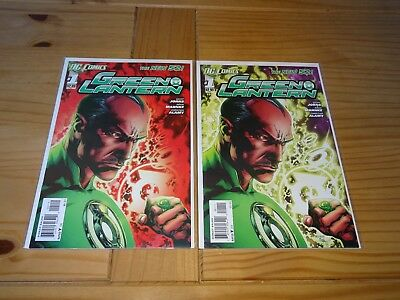 GREEN LANTERN #1 VARIANTS !! THE NEW 52 Bag and Board