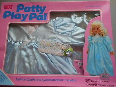 "IDEAL-Patty PlayPal Little Princess Costume W/ ""A Fairytale Fantasy"" Cassette"