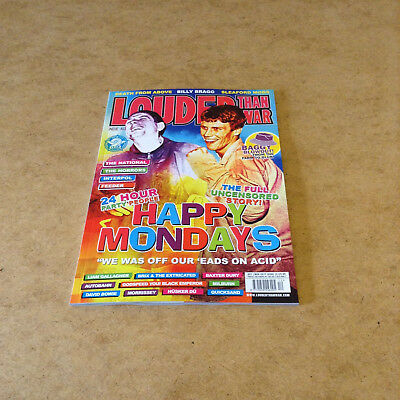 Louder Than War Issue 12 Oct/nov 2017 Happy Mondays Story Indie Punk Music News
