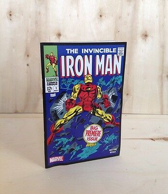 The Invincible Iron Man #1 Big Premiere Issue May 1968 Reprint Marvel Comics