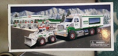 New Hess 2008 Toy Truck And Front Loader