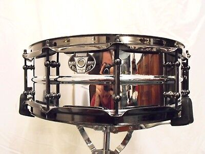 Ludwig Black Magic Stainless Steel Snare Drum 14x5