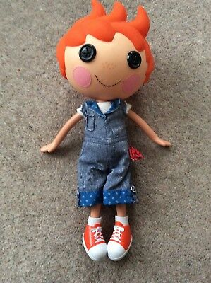 "12"" Lalaloopsy Boy Doll , Cute!"
