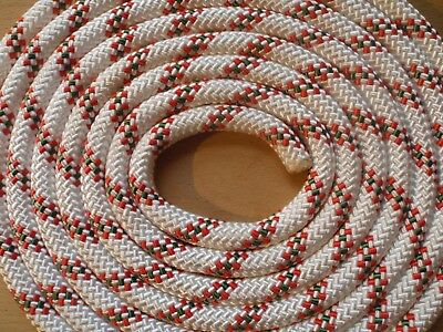 125m 10.5mm Low Stretch (Semi-static) rope Climbing Arborist Rope Access BNWOT