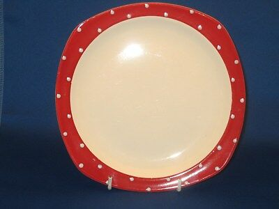 midwinter stylecraft red domino side plate.