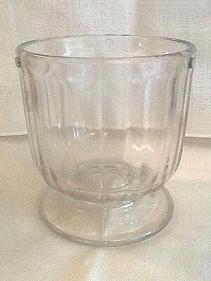 RARE! Early 1900s Glass Churn Bowl for LADD MIXER CHURN NO. 1 - Excellent Cond.