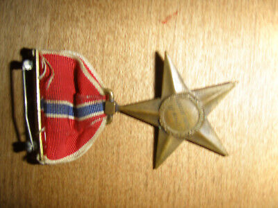 WWII Named Bronze Star Medal - Excellent Condition