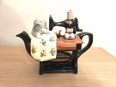 Infusion Sewing Machine Teapot