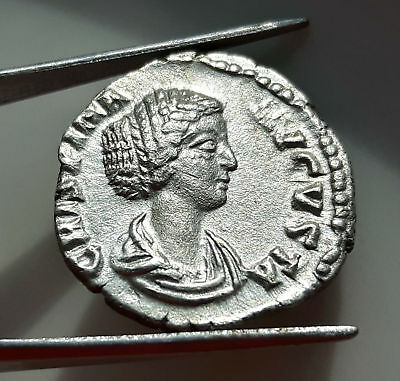 ** CRISPINA** ROMAN SILVER DENARIUS II nd Cent AD ** GREAT QUALITY ** RARE !!!