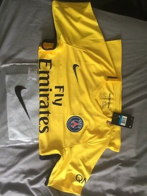 Psg 2017/18 Away Shirt Medium Ligue1 - Neymar-Mbappe