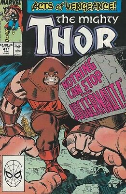 The Mighty Thor (Acts Of Vengeance) #411 - 1989