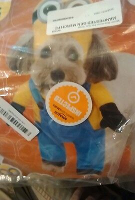 Despicable Me Minion Bob Pet Dog Costume -Small (PA)