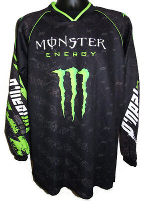 O'neal MX MONSTER ENERGY Jersey Shirt Racing Motocross Bike Polyester - Small