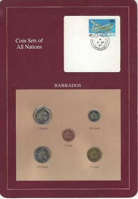 Coin Sets of All Nations, Barbados, Scarce Set