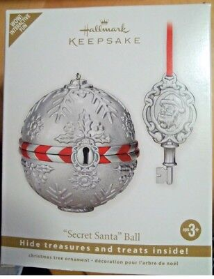 NIB! Hallmark Keepsake Ornament Secret  Santa Ball! ( 2011)