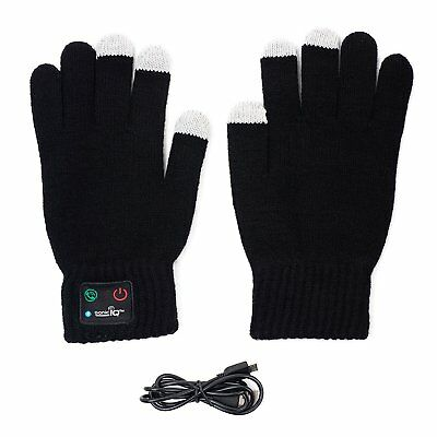 Wireless Winter Bluetooth Gloves for Smarthphone Built in Bluetooth Speaker