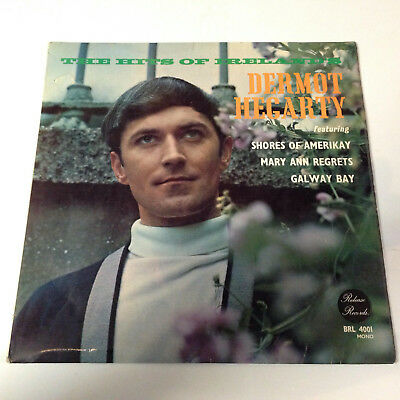 Dermot Hegarty. The Hits of Ireland. Release records. Lp.