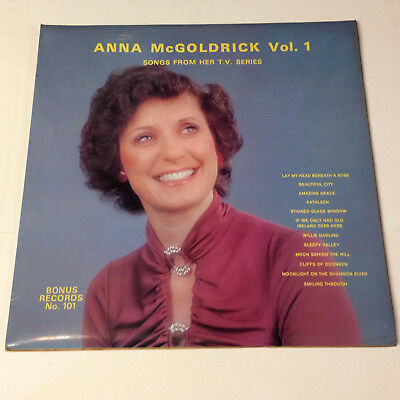 Anna McGoldrick Vol.1. Songs from her T.V. series. Bonus records. Lp.