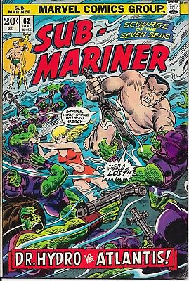 Sub-Mariner - Issue 62 - Marvel Comics - Namor - 1973