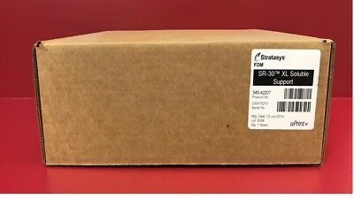 Stratasys Fdm/ New/ Sr – 30 Xl Soluble Support 345-42207 For 3D (Uprint Se/plus)
