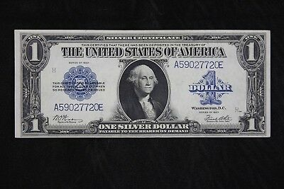 $1 1923 AU Horse Blanket Large silver certificate A59027720E one dollar FREESHIP