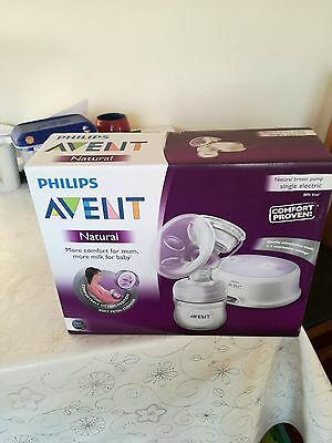 BNIB new in box philips avent electric breast pump sore nipples solution new mum