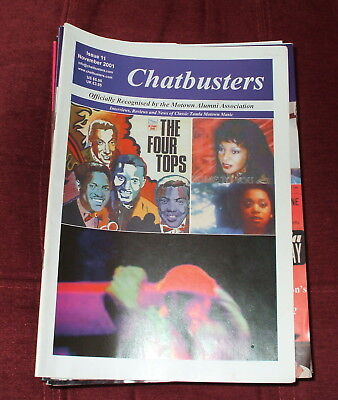 Chatbusters Soul Motown Magazine Issue 11,november 2001