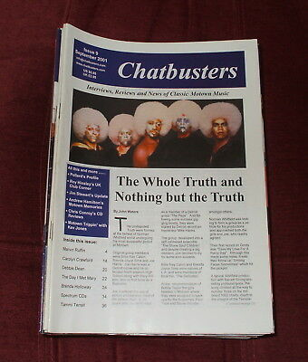 Chatbusters Soul Motown Magazine Issue 9,september 2001