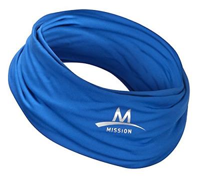 Multi Cool Scarf Headband Hood Neck Facemask Cooling Sunscreen Blue
