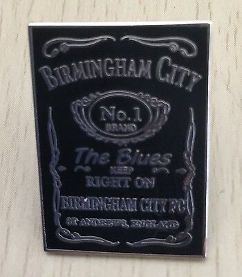 Birmingham Blues Jack Daniels Enamel Pin Badge - Very Rare & Collectible
