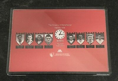 THE BUSBY BABES MUNICH TRAGEDY 60th ANNIVERSARY LARGE FRIDGE MAGNET