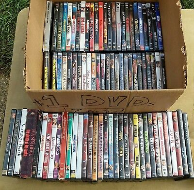 Huge 80+ DVD LOT hand picked collection of classic movies. Comedy, Action DVDs