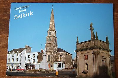 New  Whiteholme  Postcard.  The Square, Selkirk.