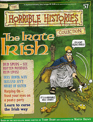 HORRIBLE HISTORIES Magazine Issue 57 - THE IRATE IRISH