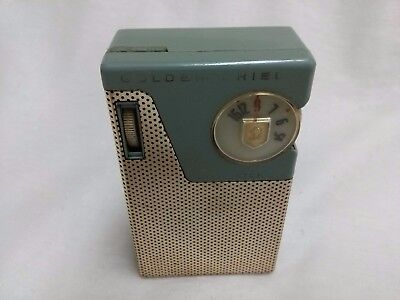 Golden Shield 3608 Model 6 Transistor Radio not working with carrying case