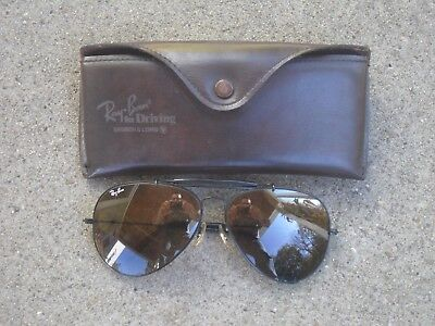 Vintage Ray-Ban Sunglasses for Driving by Bausch & Lomb. W/Case