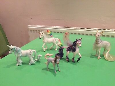 Bayala Schleich unicorn and horse bundle