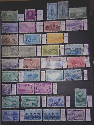 United States 1950-1965 Mint & Used Lot. 112 Stamps.