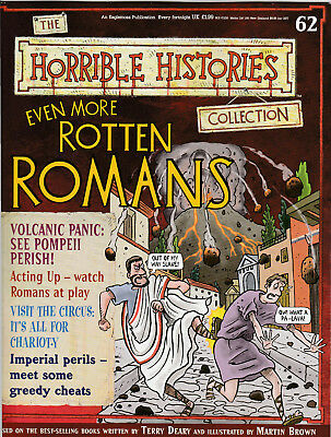 HORRIBLE HISTORIES Magazine Issue 62 - EVEN MORE ROTTEN ROMANS