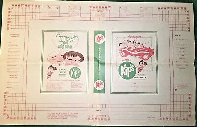 Vintage Kips Big Boy Book Cover Menu Walraven Book Cover Co Dallas Locations