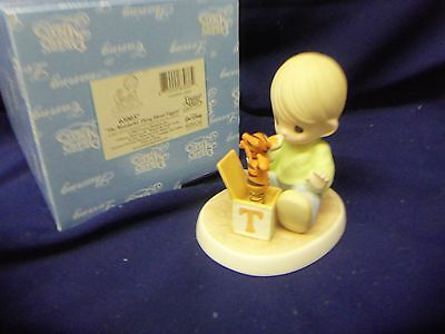 Precious Moments Disney ~~ THE WONDERFUL THING ABOUT TIGGERS ~~ 630037 MIB
