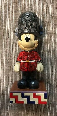 Mickey Mouse Jim Shore UK England London Soldier Figure