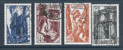 SAAR - 1948 Pictorial Definitives - 4 x Used - 10f - 50f.