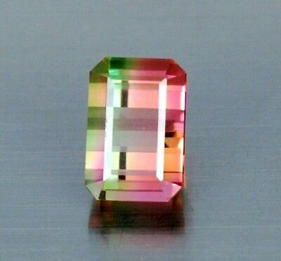IF 4.60 Ct Top Quality Awesome  Bi Color Natural Water Melon Tourmaline