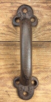 Heavy Barn Door Handle Pull cast iron Vintage style Barn Gate Drawer Shed 9-3/4