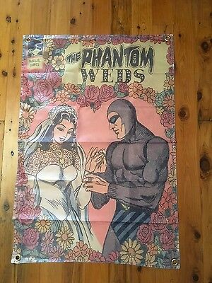 THE PHANTOM 3x2 ft man cave flag marvel comics Harley Ghost that walks