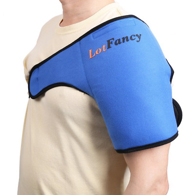 Shoulder Wrap Gel Ice Hot Cold Pack Injury Pain Relief Therapy Health Care Wraps