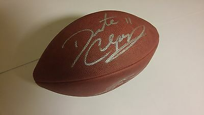 Dante Culpepper And Fran Tarkenton Dual Autographed  Brand New  Pro Football