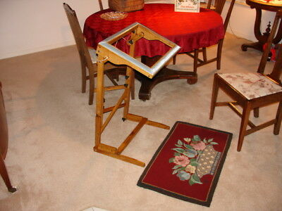 Rug Hooking Frame Floor Deluxe Model